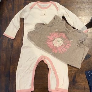 Baby girl Burts Bees outfit